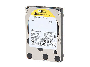 WD XE SAS 900GB 2.5 10,000RPM HDD