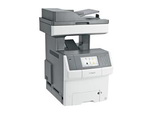 LEXMARK X748DE  COLOUR MFP LASER 4 IN 1, 33PPM, A4