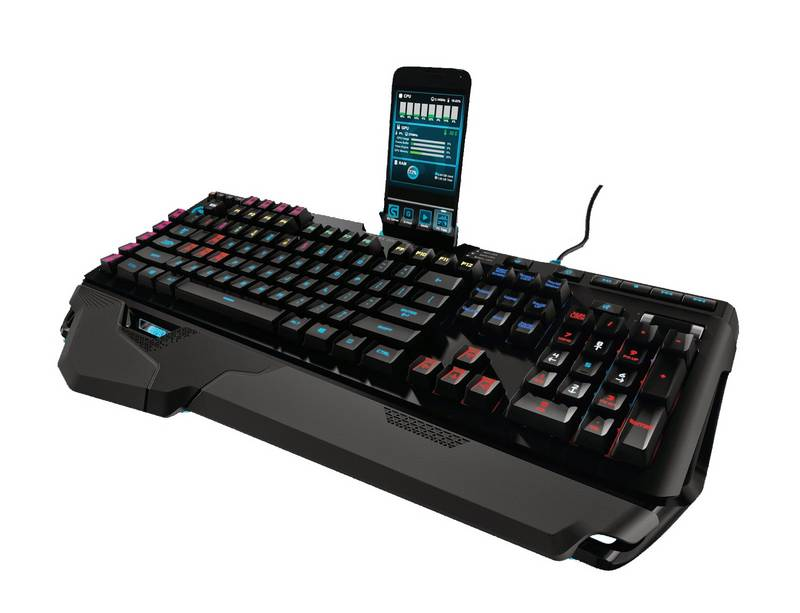 LOGITECH G910 ORION SPARK RGB  GAMING KEYBOARD