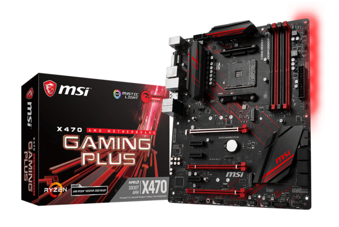 MSI MB X470 GAMING PRO - AM4,DDR4,ATX
