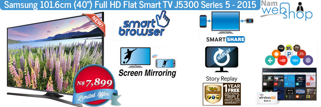 "Samsung 40"" Full HD J5300"